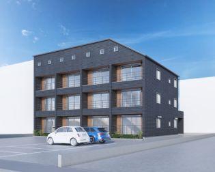 仮)下柚木2丁目共同住宅新築計画[3階]の外観