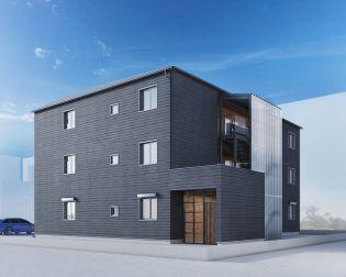 仮)下柚木2丁目共同住宅新築計画[2階]の外観