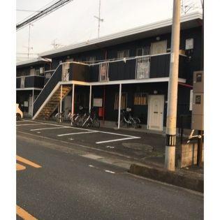 埼玉県行田市門井町3丁目の賃貸アパートの外観
