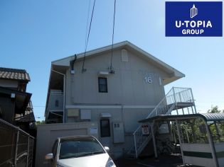 U・TOPIA 16 (自社運営・管理) 2階の賃貸【岐阜県 / 岐阜市】