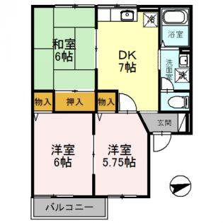 和歌山県岩出市山の賃貸アパート