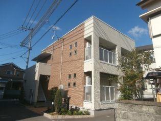 和歌山県和歌山市黒田の賃貸アパートの外観