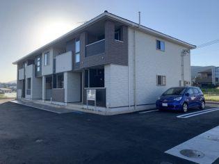 和歌山県橋本市胡麻生の賃貸アパートの外観