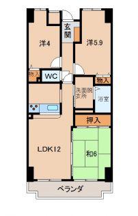 ライオンズマンション和歌山紀伊[12階]の外観