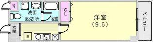 兵庫県神戸市須磨区寺田町2丁目の賃貸マンションの間取り