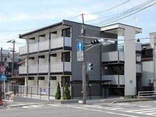 神奈川県川崎市幸区紺屋町の賃貸マンションの外観