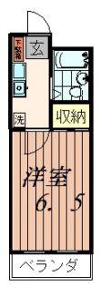 セイハイツII[2階]の間取り