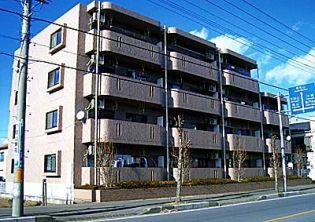 埼玉県坂戸市中富町の賃貸マンションの外観
