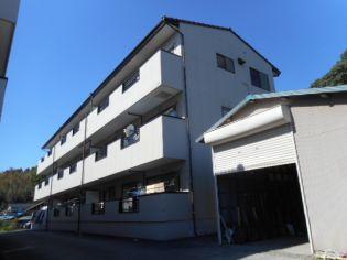 静岡県掛川市八坂の賃貸アパートの外観