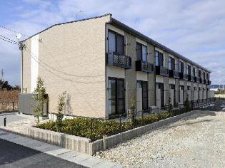静岡県掛川市沖之須の賃貸アパートの外観