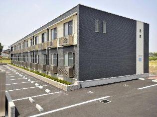 静岡県牧之原市細江の賃貸アパートの外観