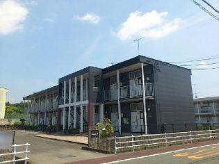 静岡県掛川市上西郷の賃貸アパートの外観