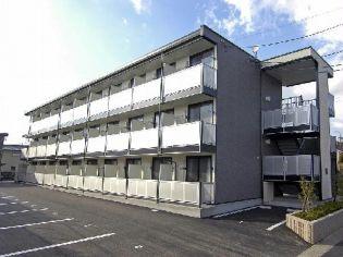 静岡県掛川市上屋敷の賃貸マンションの外観