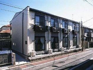東京都三鷹市下連雀4丁目の賃貸アパートの外観