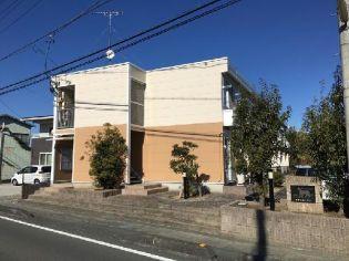 静岡県掛川市満水の賃貸アパートの外観