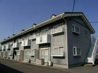栃木県河内郡上三川町しらさぎ3丁目の賃貸アパートの外観