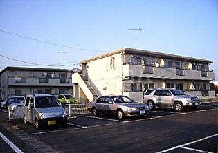 栃木県宇都宮市鐺山町の賃貸アパートの外観