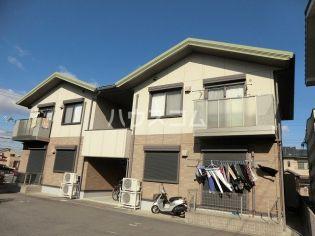 愛知県安城市桜井町塔見塚の賃貸アパートの外観