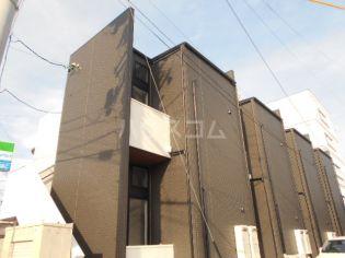 愛知県安城市住吉町2丁目の賃貸アパートの外観