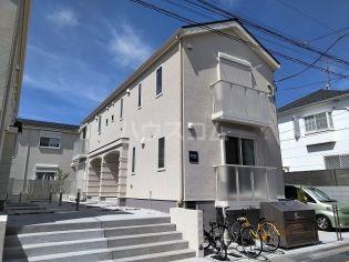東京都大田区北千束3丁目の賃貸アパートの外観