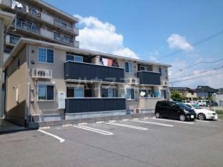 愛知県蒲郡市大塚町西島の賃貸アパートの外観